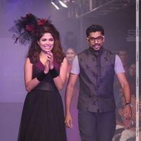 Parvathy Omanakuttan - Parvathy Omanakuttan walks the ramp for Vivek Karunakaran at Kingfisher Stills