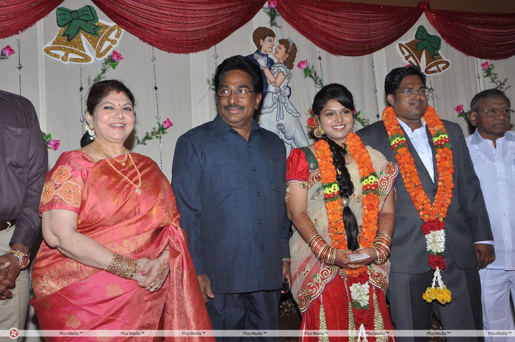 Y Vijaya Daughter Wedding Reception Stills for Y Vijaya Daughter  174mzq
