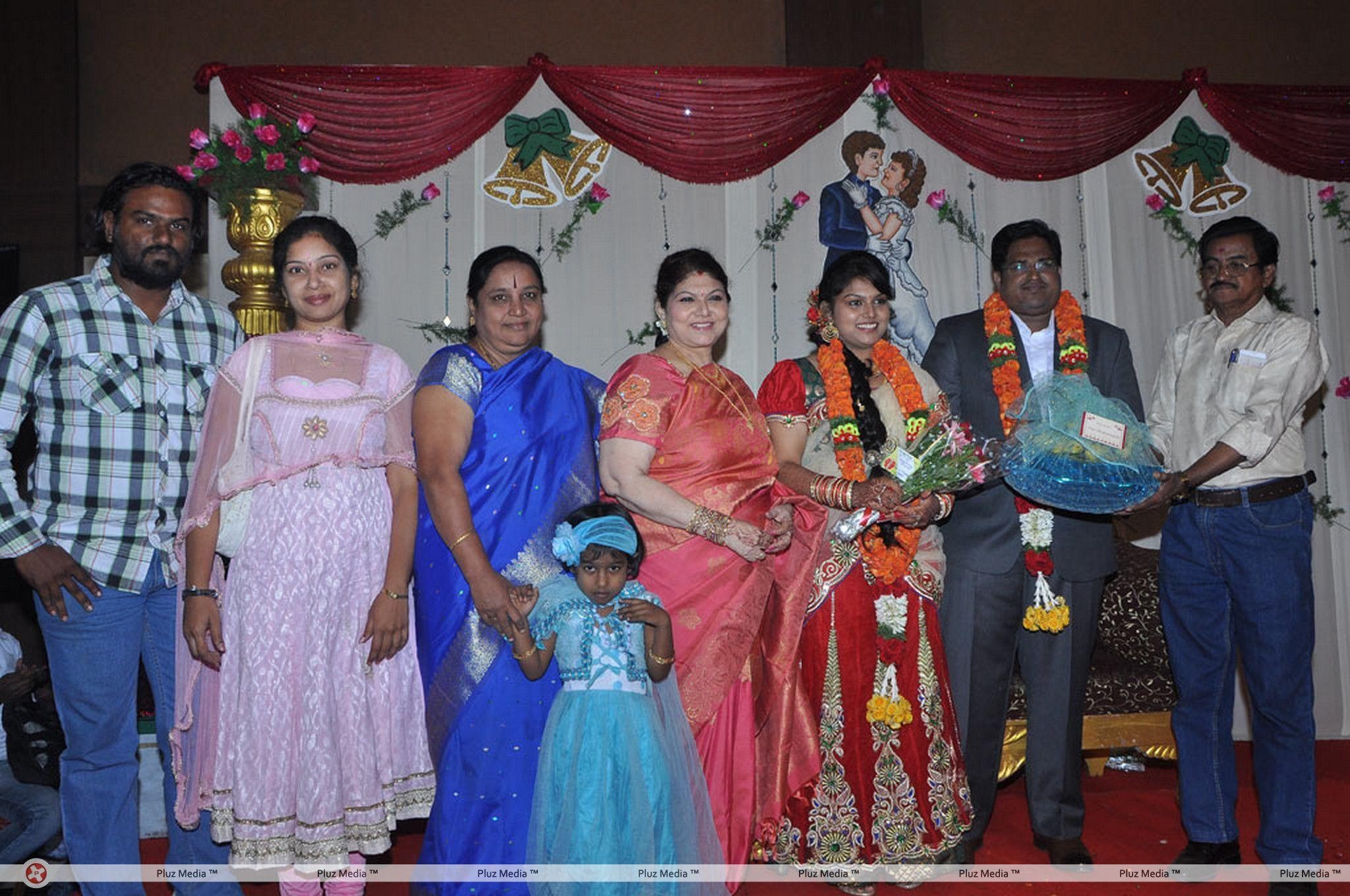 Y Vijaya Daughter Wedding Reception Stills for Y Vijaya Daughter  45ifm