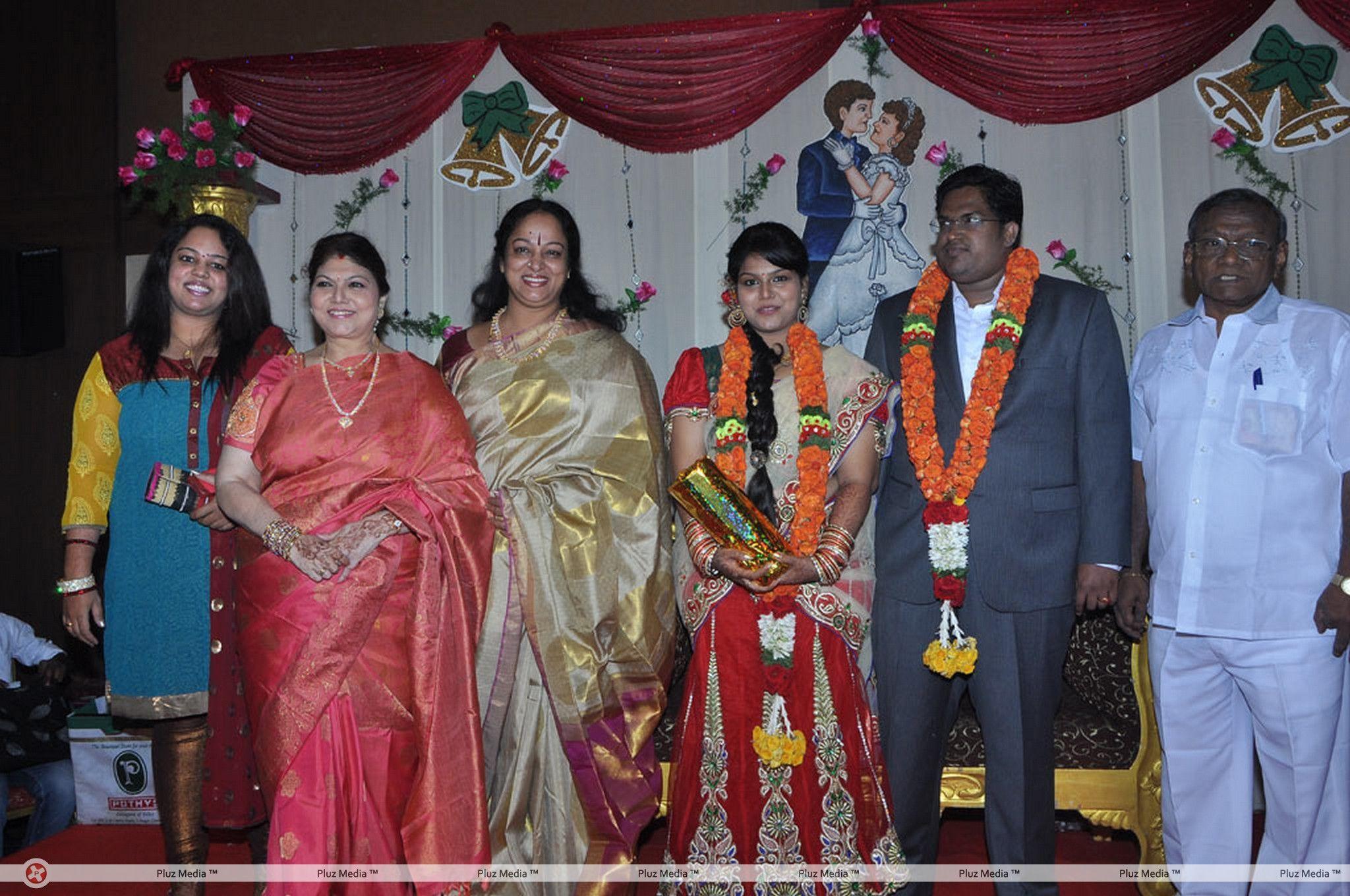 Y Vijaya Daughter Wedding Reception Stills for Y Vijaya Daughter  111ane