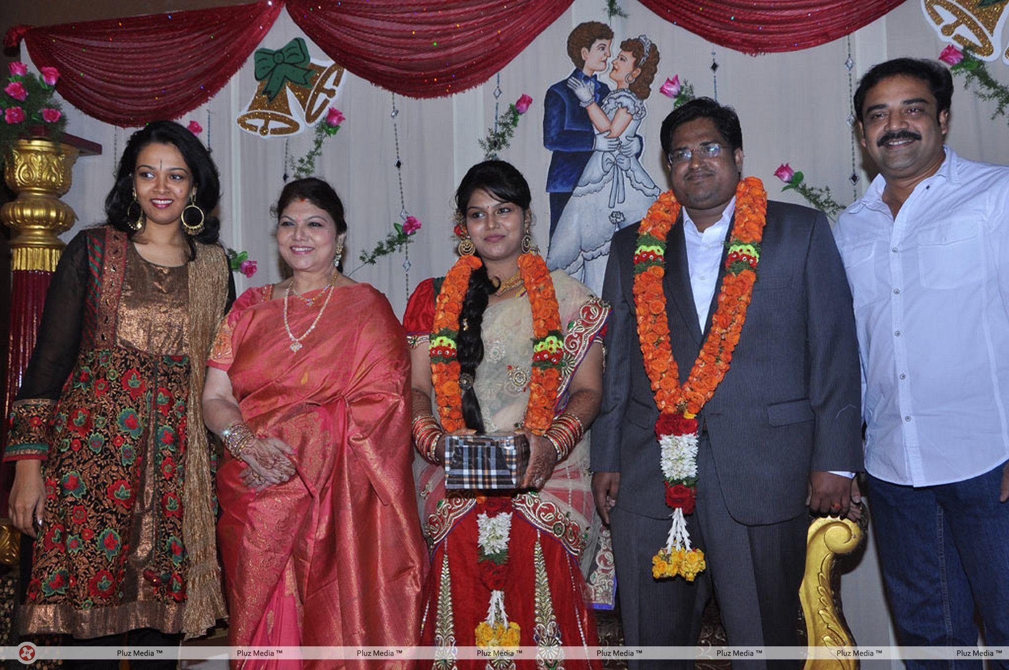 Y Vijaya Daughter Wedding Reception Stills for Y Vijaya Daughter  199fiz