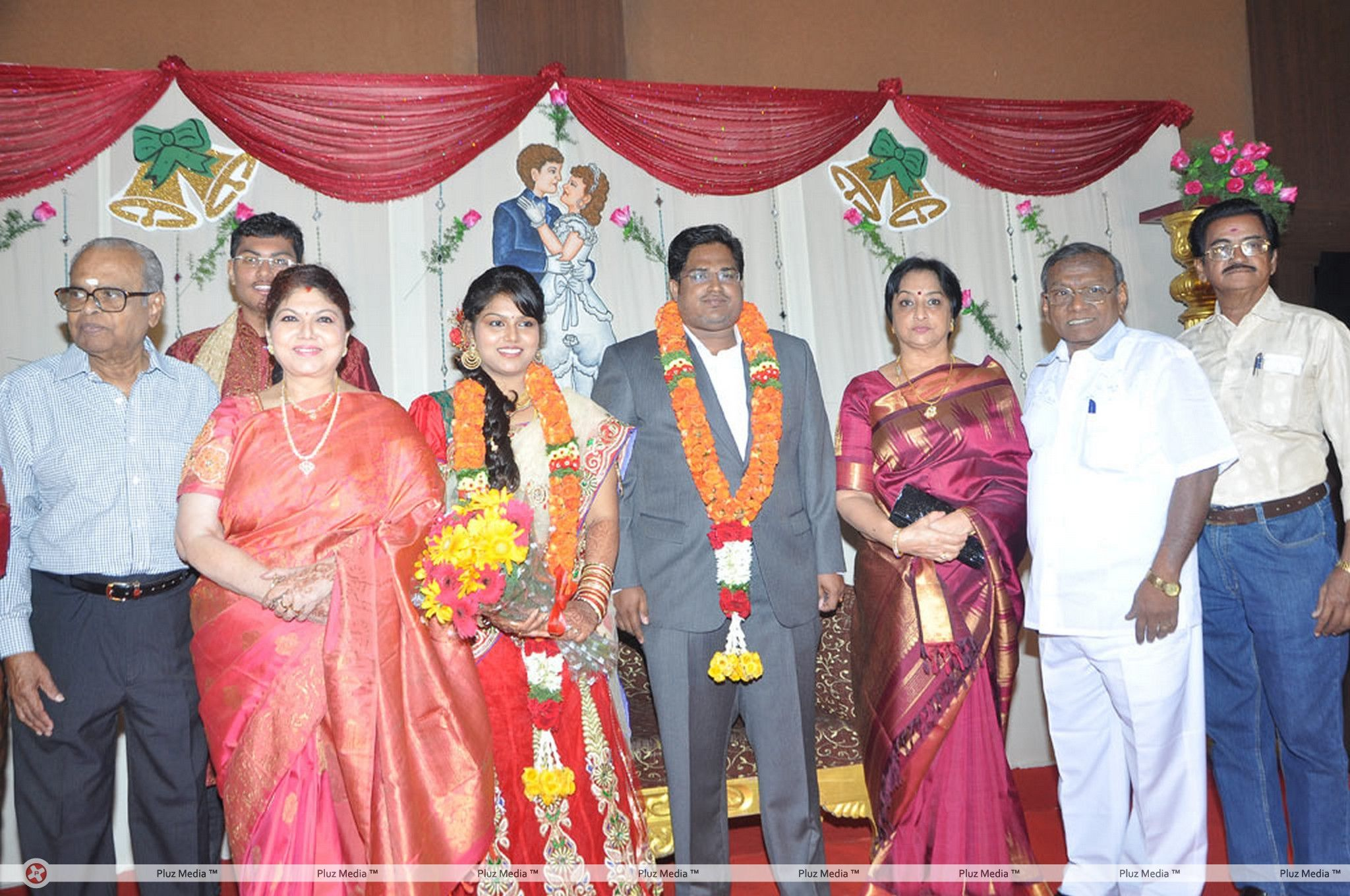 Y Vijaya Daughter Wedding Reception Stills for Y Vijaya Daughter  55jwn