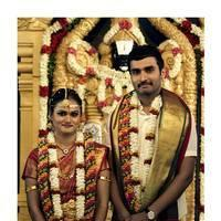 Actor Nandha Marriage Photos