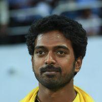 Vikranth Santhosh - Chennai Rhinos Team at MA Chidambaram Chepauk Stadium Stills