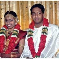 Producer AK.Velan Grandson Wedding Photos