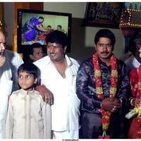Cinematographer NS.Udhayakumar Wedding Reception Stills