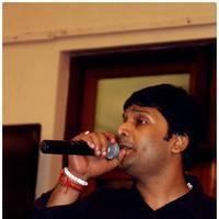 Harish Raghavendra - Singer MK Balaji and Priyanka Wedding Reception Stills