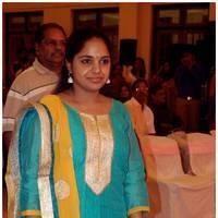Saindhavi - Singer MK Balaji and Priyanka Wedding Reception Stills