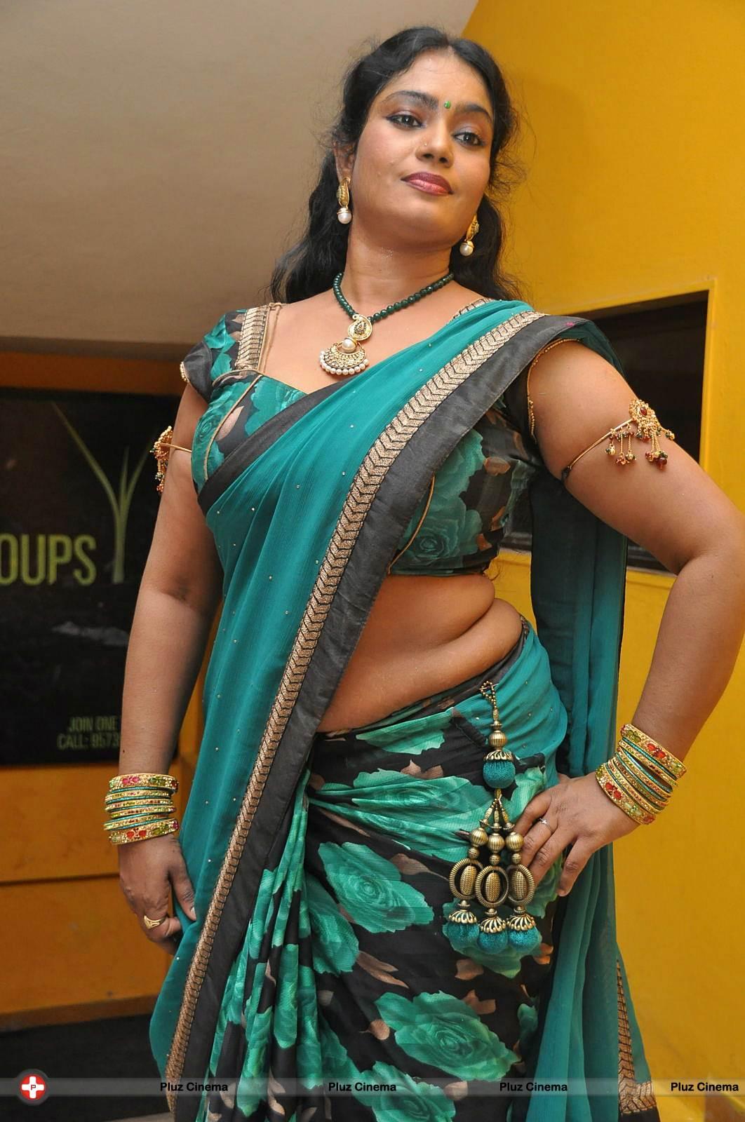 Jayavani Hot At Minugurulu Audio Function Photos-3542