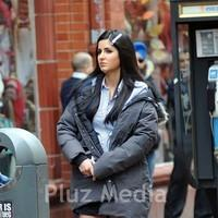 Katrina Kaif - Exclusive: Salman and Katrina hug during a break in filming scenes on 'Ek Tha Tiger'