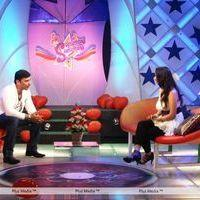 Tejashree in Polimer Tv - Pictures