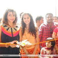 Taapsee and Lakshmi Prasanna Manchu at Opening of Laasyu Shop - Pictures