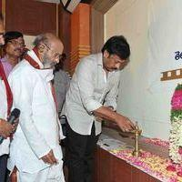 Chiranjeevi & Tollywood Condolences to Jaladi - Pictures