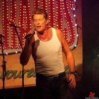 David Hasselhoff performing live at the Freshers Ball 2011
