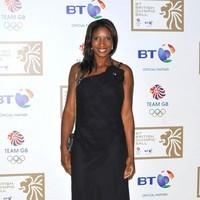 Denise Lewis - BT Olympic Ball held at Olympia - Arrivals - Photos