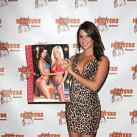 Alex Dumrauf - 2012 Hooters Calendar Worldwide Release Party at NYC