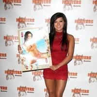 Crystal Cunningham - 2012 Hooters Calendar Worldwide Release Party at NYC