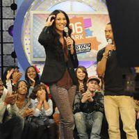 Kimora Lee Simmons appears on BET's 106 & Park