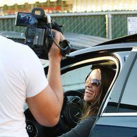 Alanis Morissette out and about in Brentwood