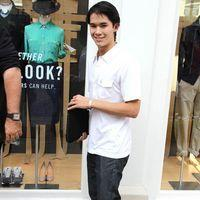 Booboo Stewart at The Grove in West Hollywood