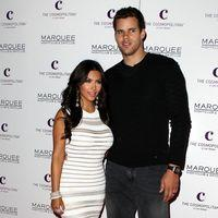 Kim Kardashian and Kris Humphries - Kim Kardashian celebrates her birthday at Marquee Nightclub