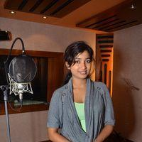 Shreya Ghoshal - Teen Kanya song recording - Photos