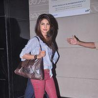 Priyanka Chopra - Celebs leave for IIFA Awards 2012 at International Airport - Photos