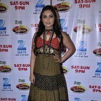 Rani Mukerji - Rani Mukherji on the sets of Dance Ke Superkids Photos