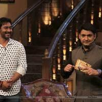 Promotion of film Satyagraha on the sets of TV show Comedy Nights with Kapil Photos