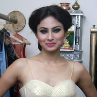 Mouni Roy - Rohit Verma launches his new festive collection photos