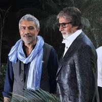 Amitabh & Prakash Jha promotes film Satyagraha Photos