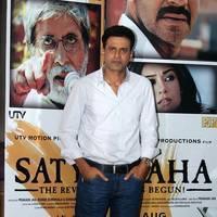 Manoj Bajpai - Manoj Bajpai promotes film Satyagraha Photos   Picture 549016
