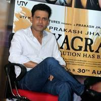 Manoj Bajpai - Manoj Bajpai promotes film Satyagraha Photos
