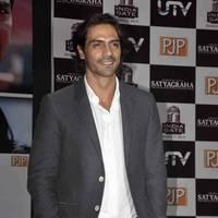 Arjun Rampal - Satyagraha movie team during the promotion Photos