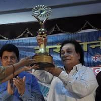 Kader Khan felicitated with Sahitya Shiromani Award Photos