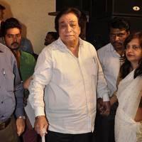 Kader Khan - Kader Khan felicitated with Sahitya Shiromani Award Photos