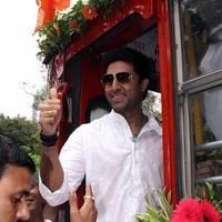 Abhishek Bachchan - Abhishek Bachchan flag off special BEST buses photos