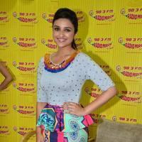 Parineeti Chopra - Promotion of Shuddh Desi Romance on Radio Mirchi Photos