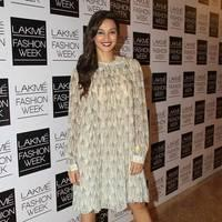 Shibani Dandekar - Lakme Fashion Week Winter/ Festive 2013: Day 3 Photos