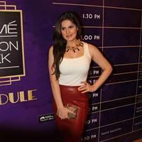 Zareen Khan - Lakme Fashion Week Winter/ Festive 2013: Day 3 Photos