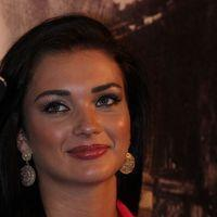 Amy Jackson - Thandavam Trailer Launch Pictures