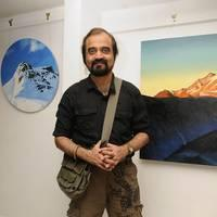Yugi Sethu - Road to Mont Blanc, An Ode to France Painting Exhibition Photos