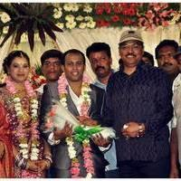 K. Bhagyaraj - Senthil Son Wedding Reception Photos
