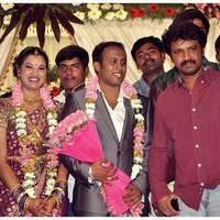 Cheran - Senthil Son Wedding Reception Photos