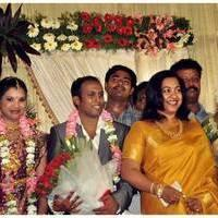 Radhika Sarathkumar - Senthil Son Wedding Reception Photos | Picture 468352