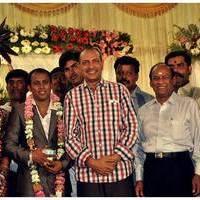 Nizhalgal Ravi - Senthil Son Wedding Reception Photos