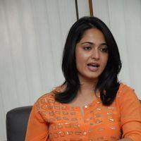 Anushka Shetty Interview Photos
