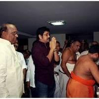 Nagarjuna at Shubam Restaurant Opening Photos