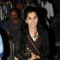 Taapsee at Sahasam Success Meet Photos | Picture 513136