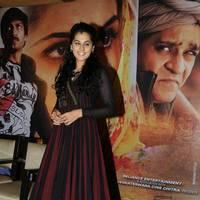 Taapsee at Sahasam Success Meet Photos | Picture 513138